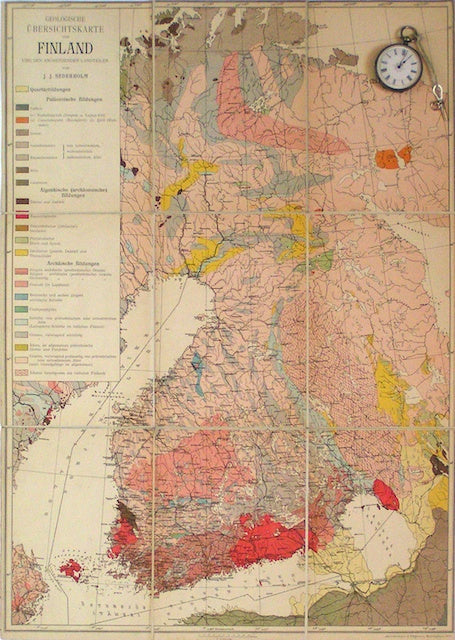 picture relating to Scandinavia Map Printable named Europe - Scandinavia 19th Century Geological Maps