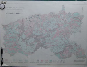 Glacial Drift Map of Co. Limerick,, 1966