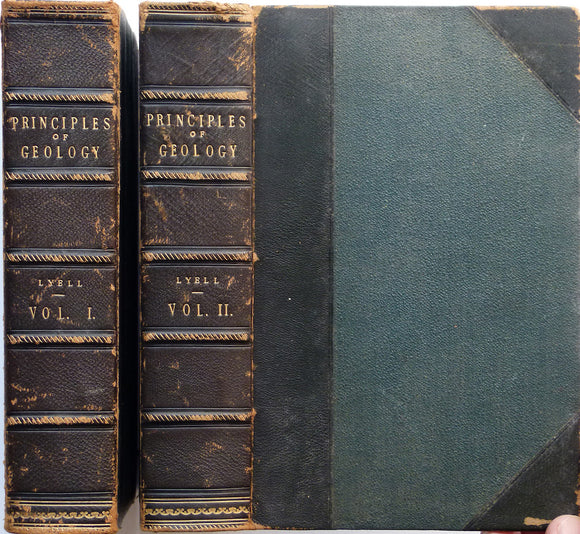 Principles of Geology or the Modern Changes of the Earth and its inhabitants, 1875