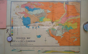 Geological Map of the West of the Vale of Glamorgan,1933