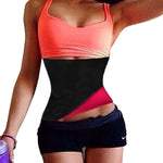 Neoprene Waist Trainer Corsets Plus Size Slimming Belt Body Shaper Waist Cincher Fitness Belt Workout Tummy Fat Burner Girdles