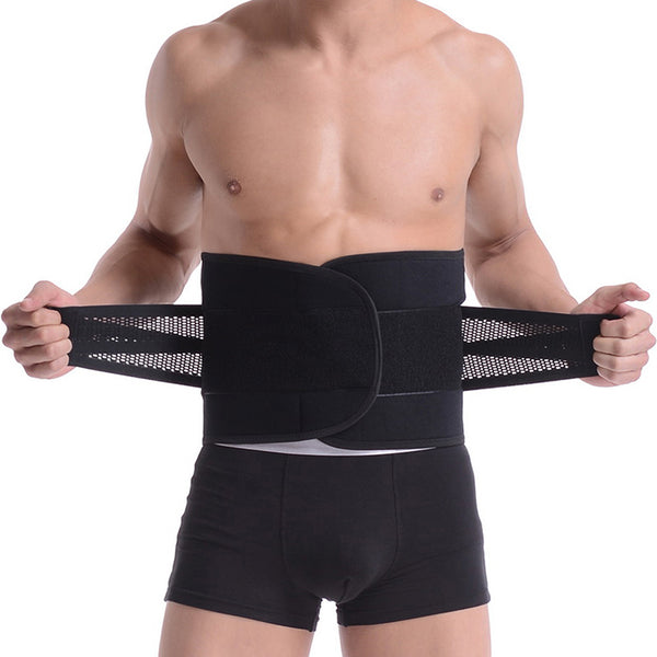 2018 Guys Corset Back Belt Spine Support Corset for the back Orthopedic Lumbar Waist Belt Corsets Medical Back Brace backbelt