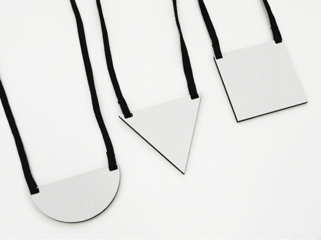 LUCI Minimal necklace. Handmade in Slovenia.