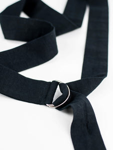 Linen belt. A timeless accessory to add to your essentials.