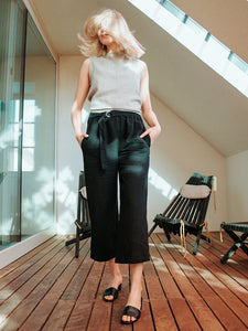 Easy wide leg pants