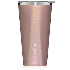 Brumate Imperial Pint 20oz - Glitter Rose Gold