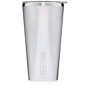Brumate Imperial Pint 20oz - Glitter White