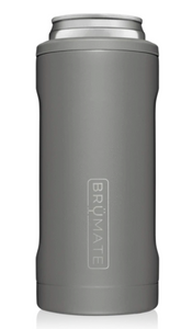 Brumate Hopsulator Slim 12oz - Matte Gray