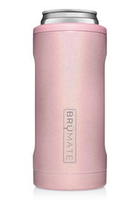 Brumate Hopsulator Slim 12oz - Glitter Blush