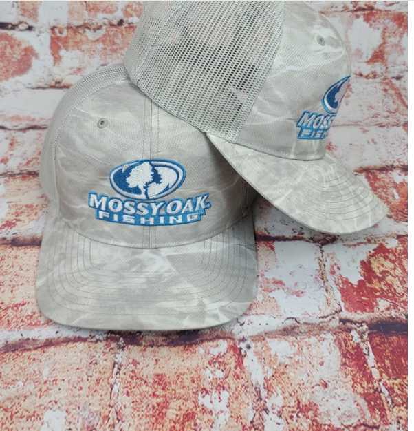 Mossy Oak Fishing Cap Bonefish/Light Grey