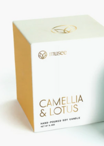 Musee Candle Camellia & Lotus