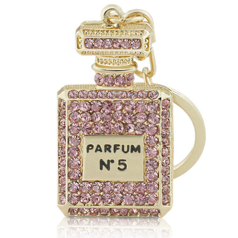 Perfume Bottle Bag Charm