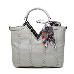 Fashionista Casual Double Handle Bag