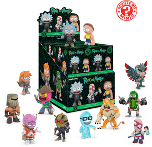 Фигурка Rick and Morty (Funko Mystery Mini)