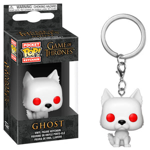Game of thrones Funko pop Keychain Ghost