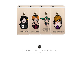 More by NR - Our Game of Phones collection for all Game of Thrones fans