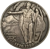 1928 United States Half Dollar (Hawaiian Sesquicentennial) coins COPY FREE SHIPPING 30.6MM