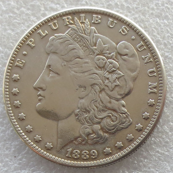 90% Silver Date 1889 - CC Morgan Dollar Copy Coin