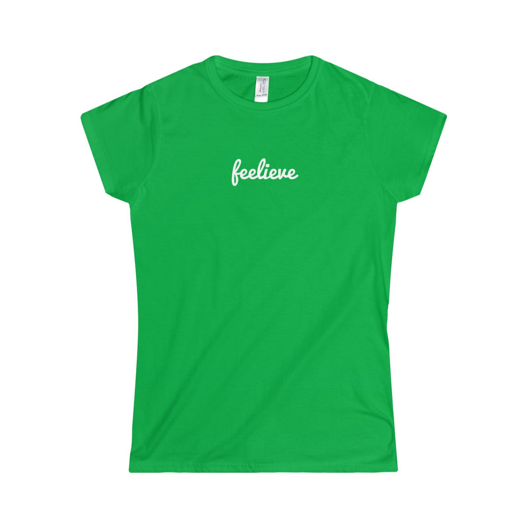 Feelieve Women's Softstyle Tee - Discount Home & Office