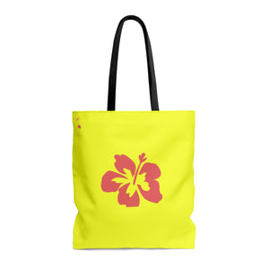 Hibiscus Night's Dream AOP Beach Bag - Discount Home & Office