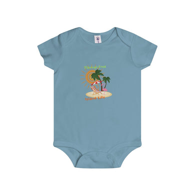 Island Life Infant Rip Snap Tee Onesies - Discount Home & Office