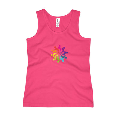 Rainbow Island People Girls Tank Top - Discount Home & Office