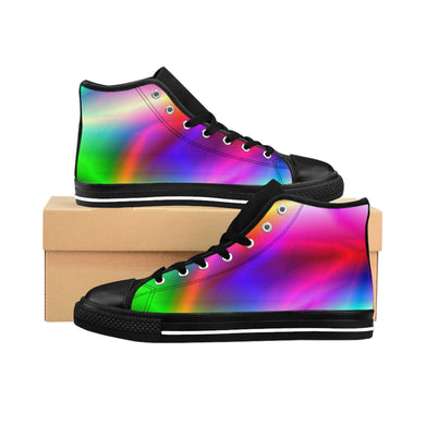 Spirit of the Rainbow Men's High-top Sneakers - Discount Home & Office