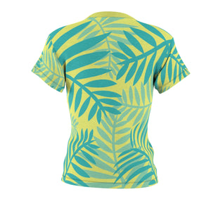 Maui In The Morning Women's AOP Cut & Sew Tee - Discount Home & Office