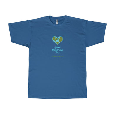 Global Planet Love Day Heart Unisex Adult Tee - Discount Home & Office