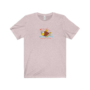 The Coolest Fish on Planet Love Unisex Tee - Discount Home & Office
