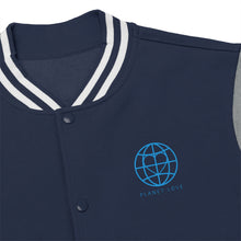 Planet Love Globe Men's Varsity Jacket - Discount Home & Office