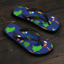 Tropical Paradise Unisex Flip-Flops - Discount Home & Office