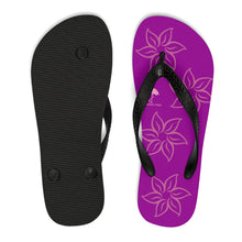 Purple Sunset Unisex Flip-Flops - Discount Home & Office