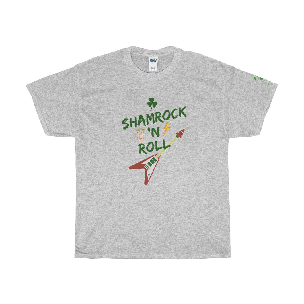 St. Patrick's Day Shamrock 'n Roll Unisex Tee - Discount Home & Office
