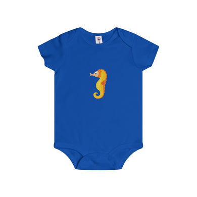Harry The Sea Horse Baby Infant Rip Snap Tee Onesies - Discount Home & Office