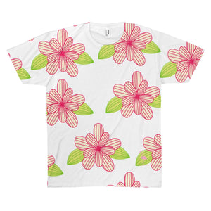 Flora Tropicana Unisex AOP Sublimation Tee - Discount Home & Office