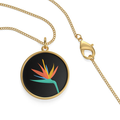 Bird of Paradise Single Loop Necklace - Discount Home & Office