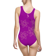 Purple Sunset Women's Classic One-Piece Swimsuit - Discount Home & Office