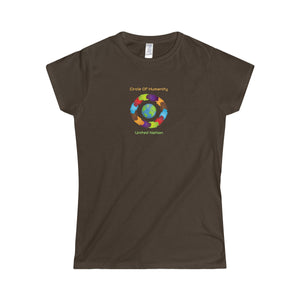 Circle of Humanity United Nation Women's Softstyle Tee - Discount Home & Office