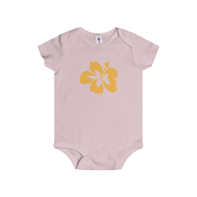 Hibiscus Dreams Infant Rip Snap Tee Onesies - Discount Home & Office