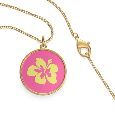 Hibiscus Dreams Single Loop Necklace - Discount Home & Office