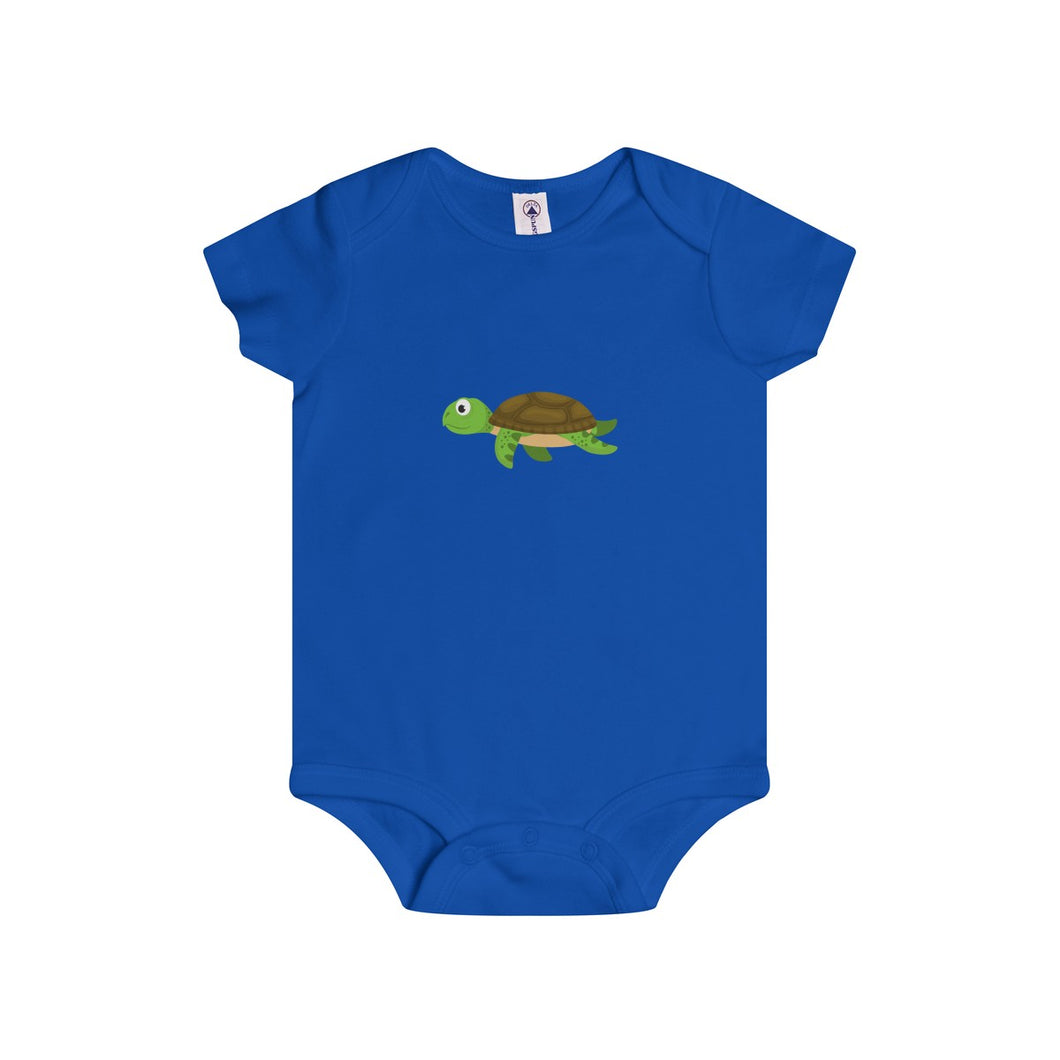 Sandy The Sea Turtle Baby Infant Rip Snap Tee Onesies - Discount Home & Office