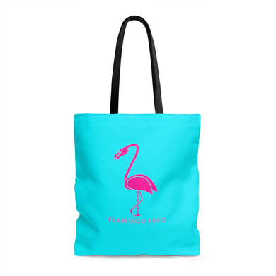 Flamingo Fred AOP Beach Bag - Discount Home & Office