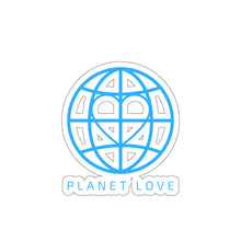 Planet Love Globe Kiss-Cut Stickers - Discount Home & Office