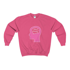 Pink For Yourself! Crewneck Sweatshirt - Discount Home & Office