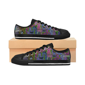 Cat On A Hot Teen Wolf Women's Sneakers - Discount Home & Office