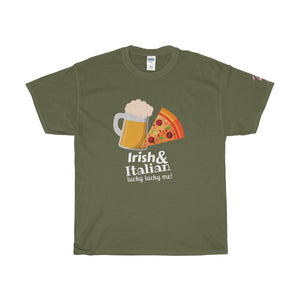 St. Patrick's Day Irish & Italian Lucky Lucky Me Unisex Tee - Discount Home & Office