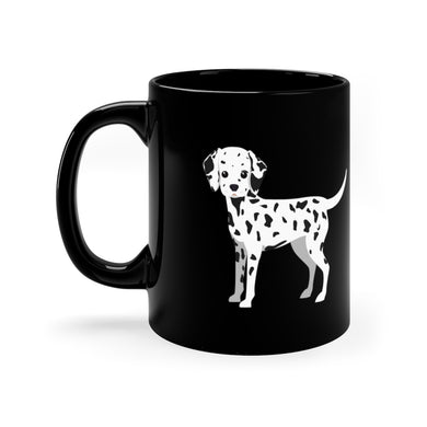 Dalmatian Pup Forever Black Mug 11oz - Discount Home & Office