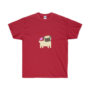 And They Call It Puggy Love Unisex Ultra Cotton Tee - Discount Home & Office