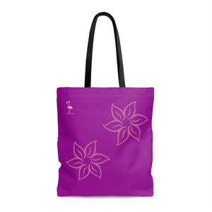 Purple Sunset AOP Beach Bag - Discount Home & Office